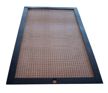 bird cage trays grate black
